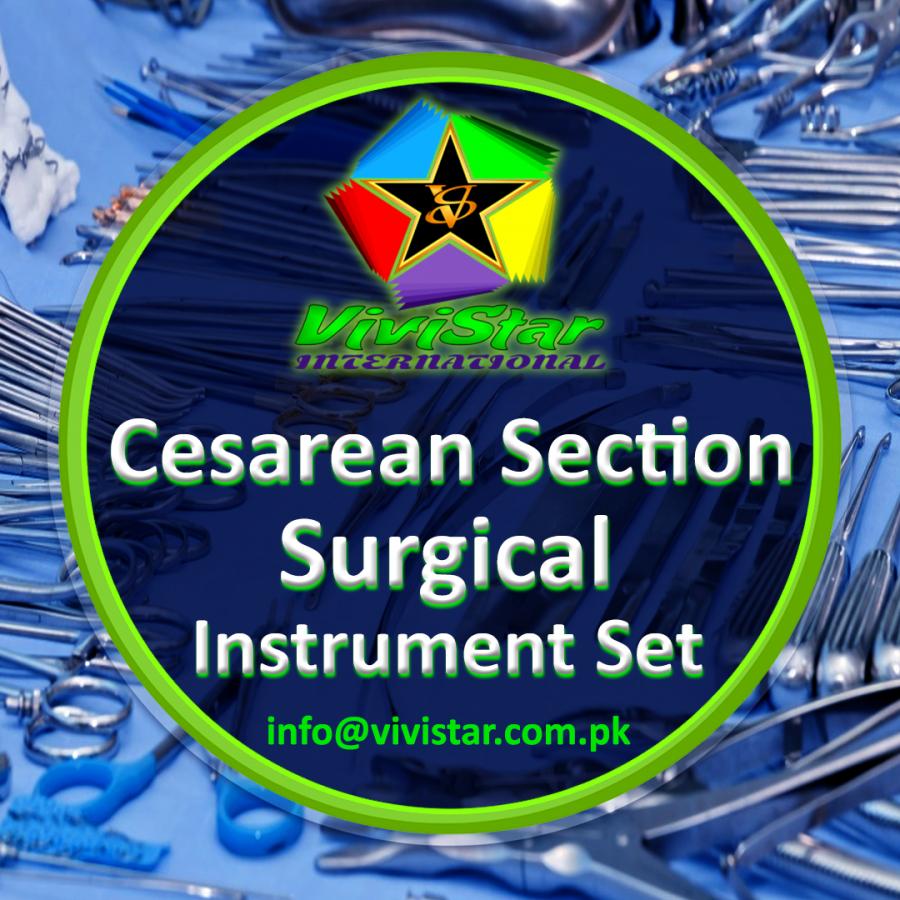 Cesarean Section Surgical Instrument Set