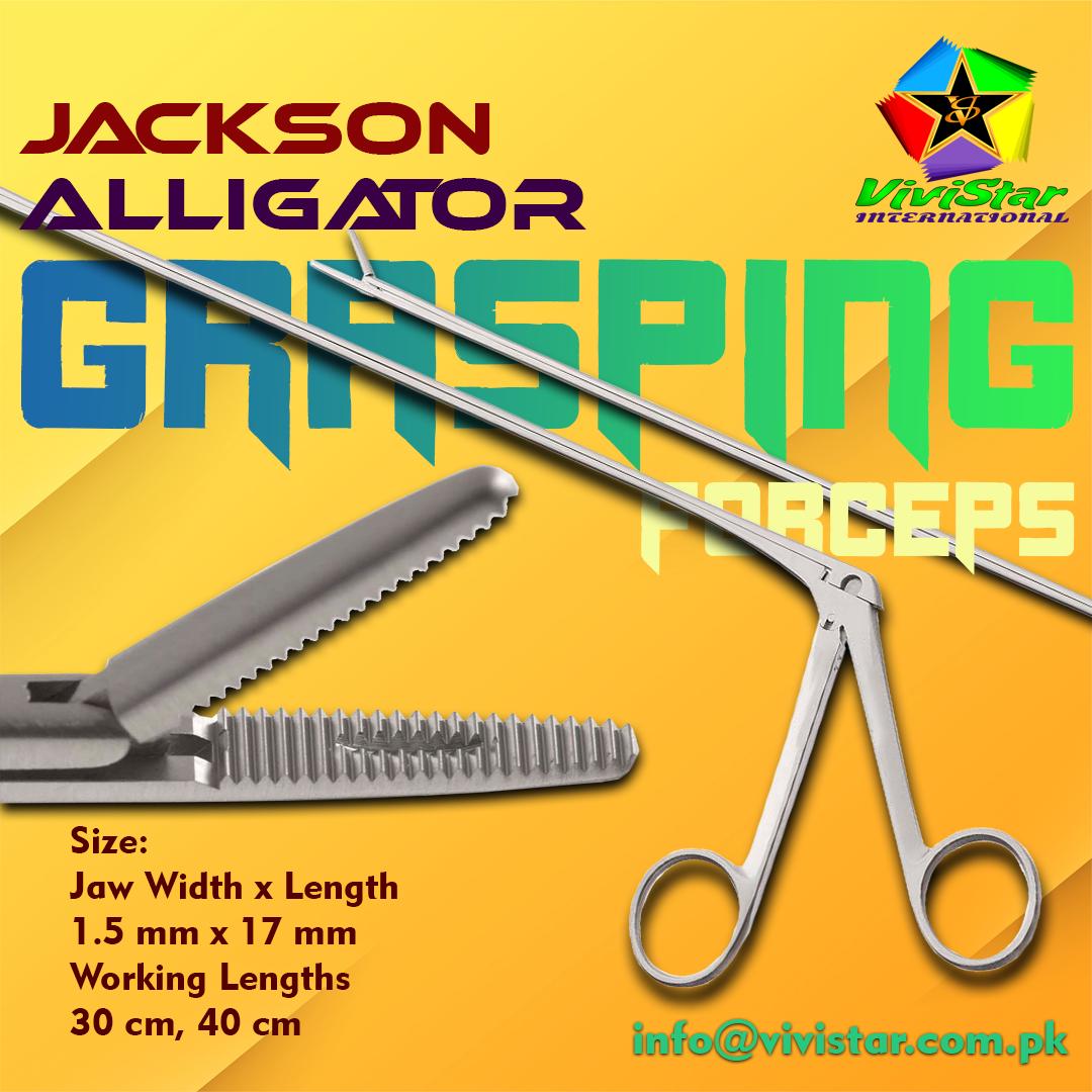 Jackson Alligator Grasping Forceps