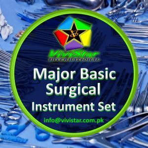 Major Basic Surgical Instrument Set