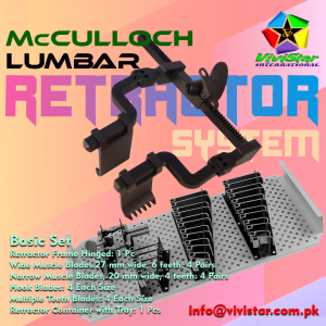 McCulloch Lumbar Retractor System