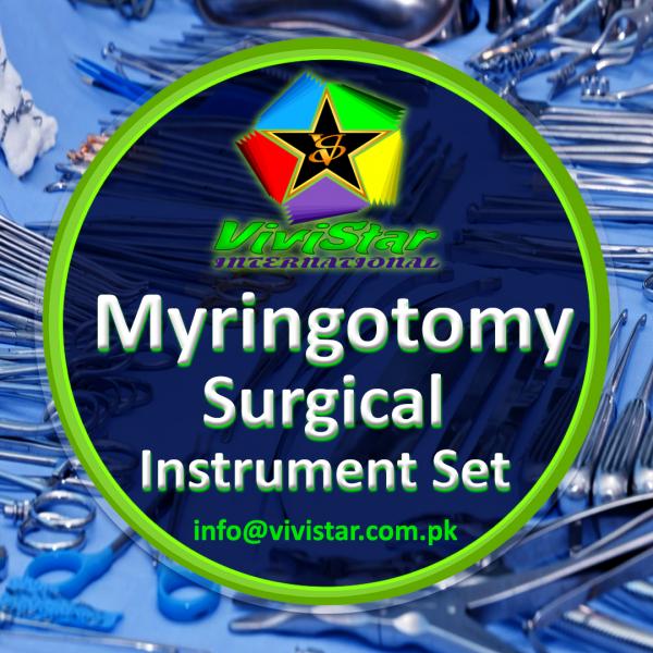 Myringotomy Surgical Instrument Set