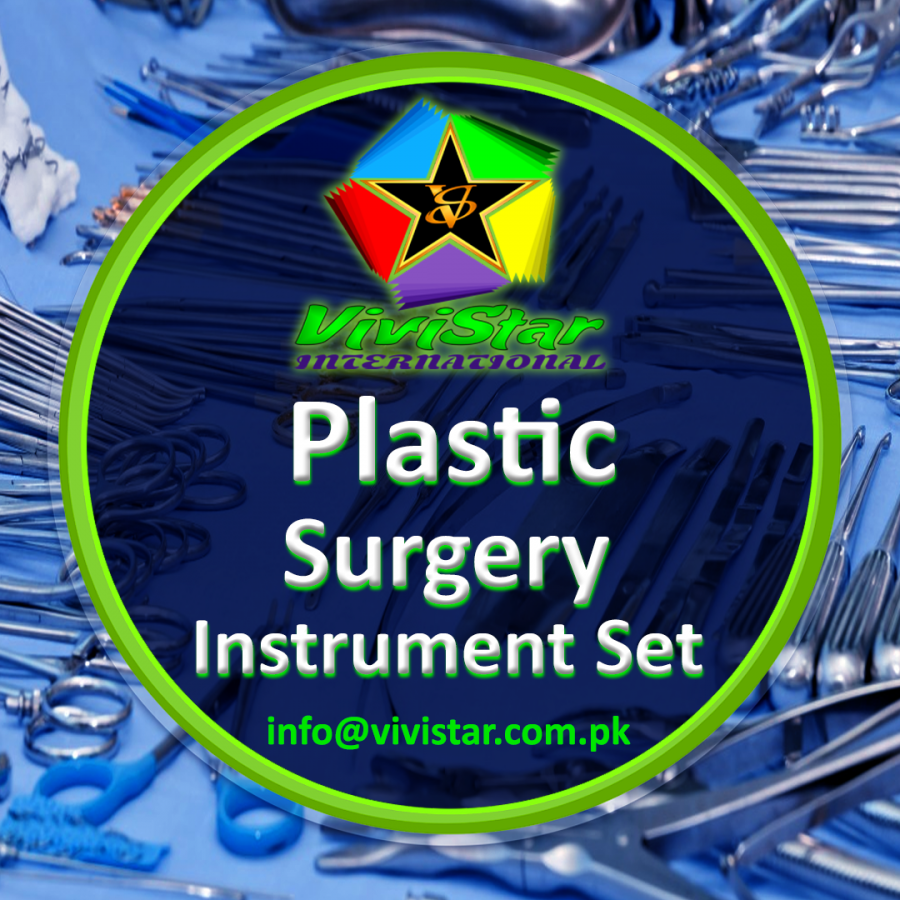 Plastic Surgery Instrument Set