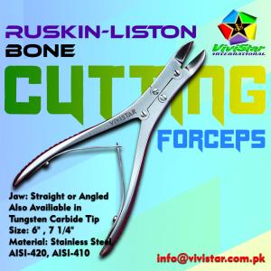 Ruskin-Liston Bone Cutting Forceps