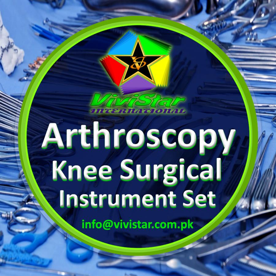 Arthroscopy Knee Surgical Instrument Set