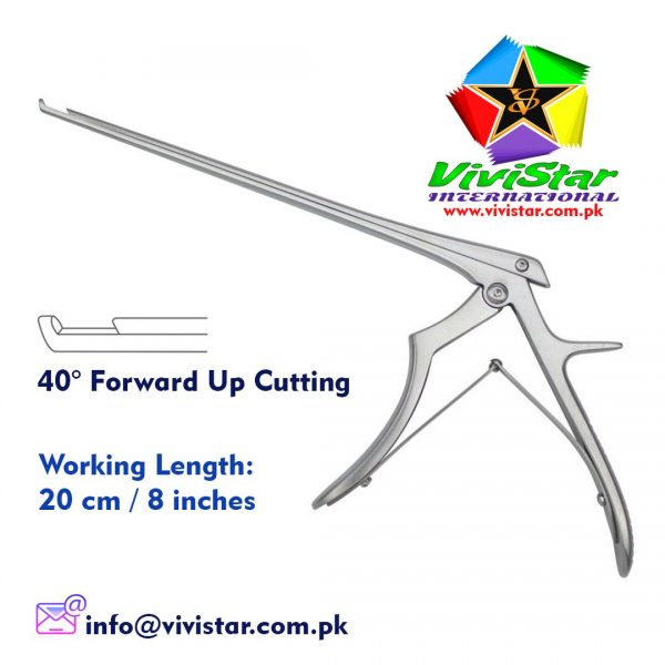 Cardiovascular-Neurosurgery-Neuro-surgery-Instruments-Laminectomy-Punches-Ferris-Smith-Kerrison-Punch-40-degree-Forward-up-Cutting-Best-Quality-USA-Germany-Pakistan-Cardio-Bone-upward-8-inch