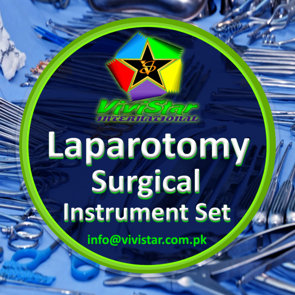 Laparotomy Surgical Instrument Set