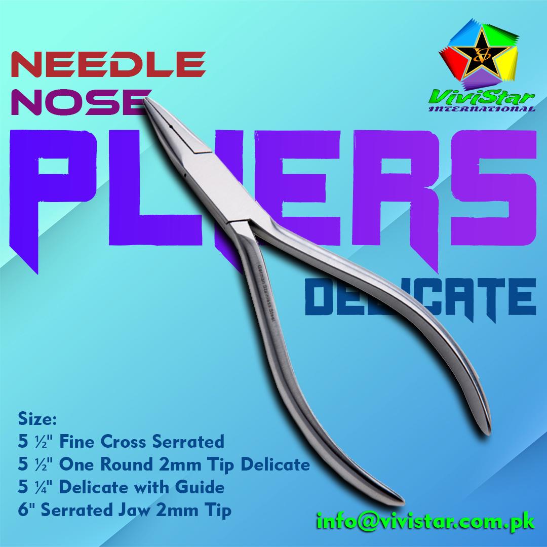 Needle Nose Pliers Delicate
