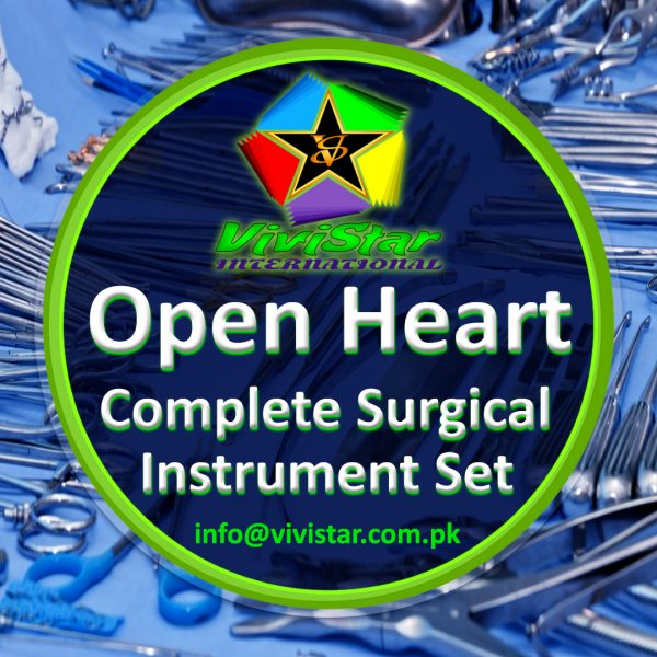 Open Heart Complete Surgical Instrument Set