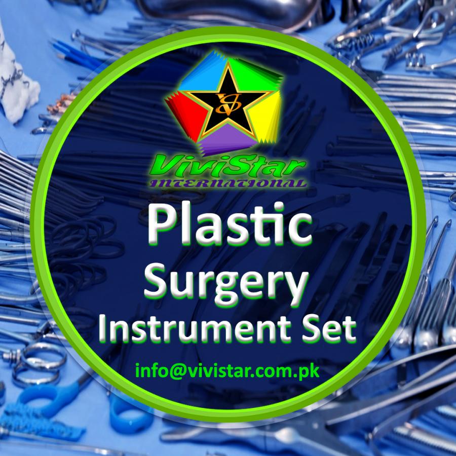 Plastic Surgery Instrument Set