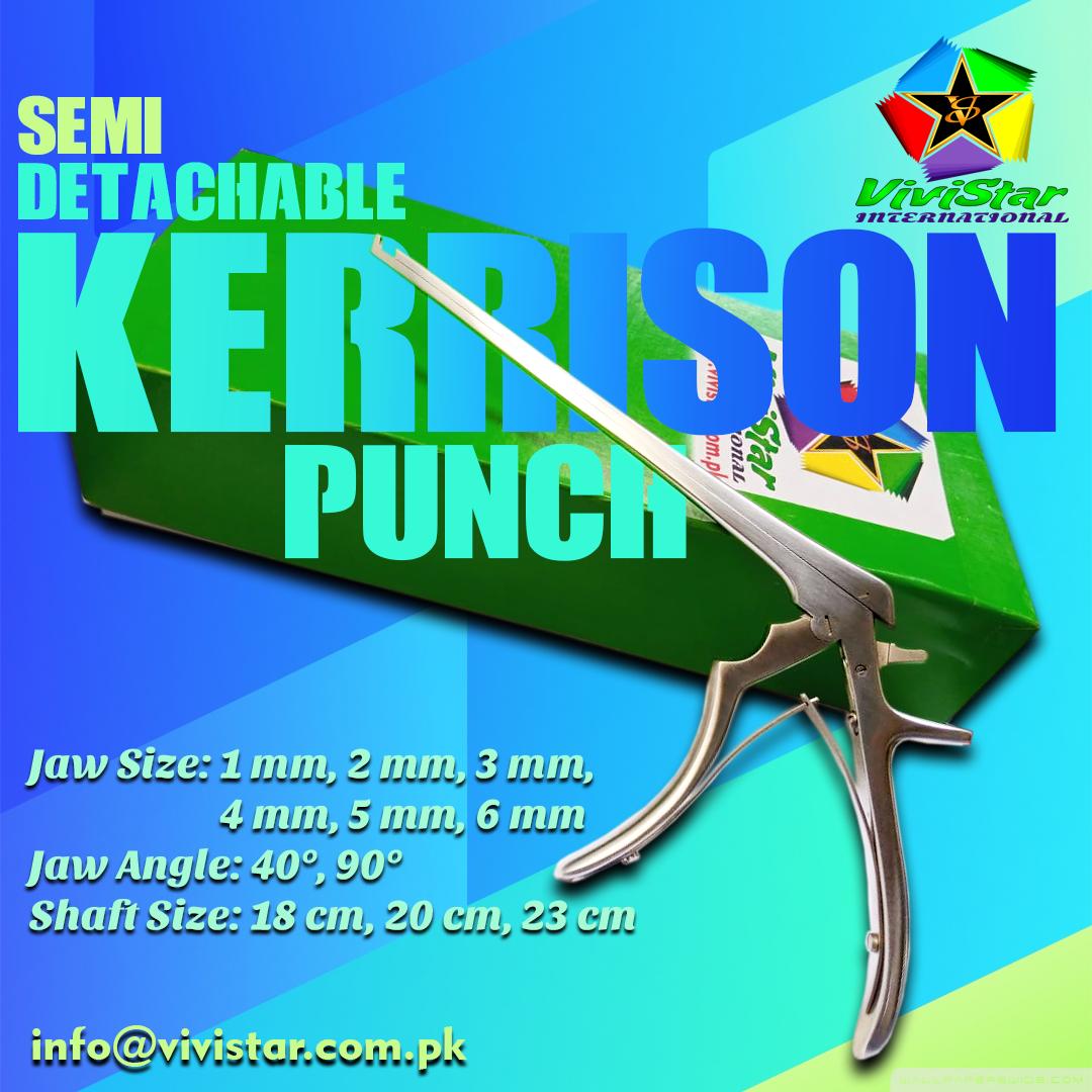 Semi Detachable Kerrison Punch
